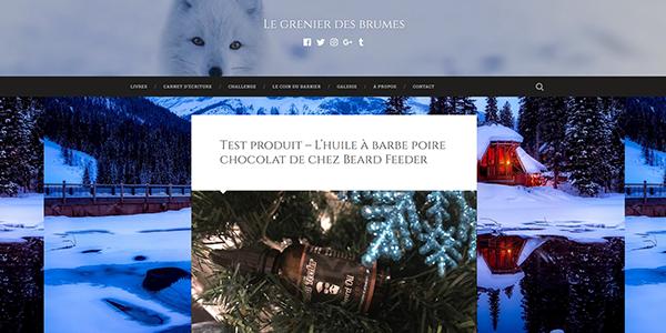 Test produit – L'huile à barbe poire chocolat de chez Beard Feeder