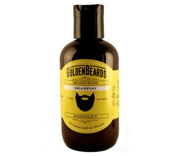 Shampoing à barbe Golden Beard