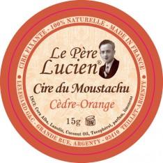 Cire du moustachu Cèdre - Orange Le Père Lucien