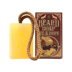 Savon Soap on a rope Antiga Barbearia de Bairro dans caissette en bois