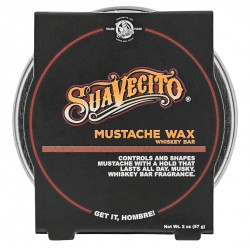 Cire à moustaches Whiskey Bar Suavecito