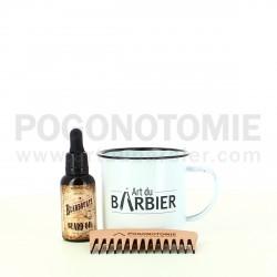 Coffret Tasse Rasage Art du Barbier
