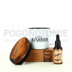 Coffret Tasse Barbe Art du Barbier