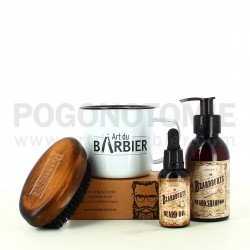 Coffret Tasse Barbe complet Art du Barbier