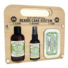 "Kit "" Beard  Care System""  Woodland Dr K Soap Company"