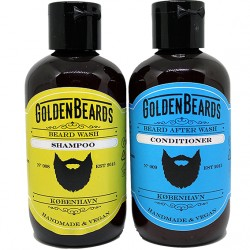 Kit de lavage de barbe Golden Beards