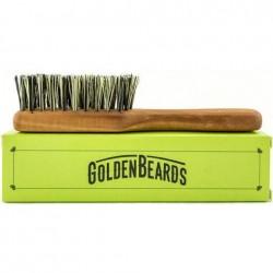 Brosse à barbe vegan avec manche Golden Beards