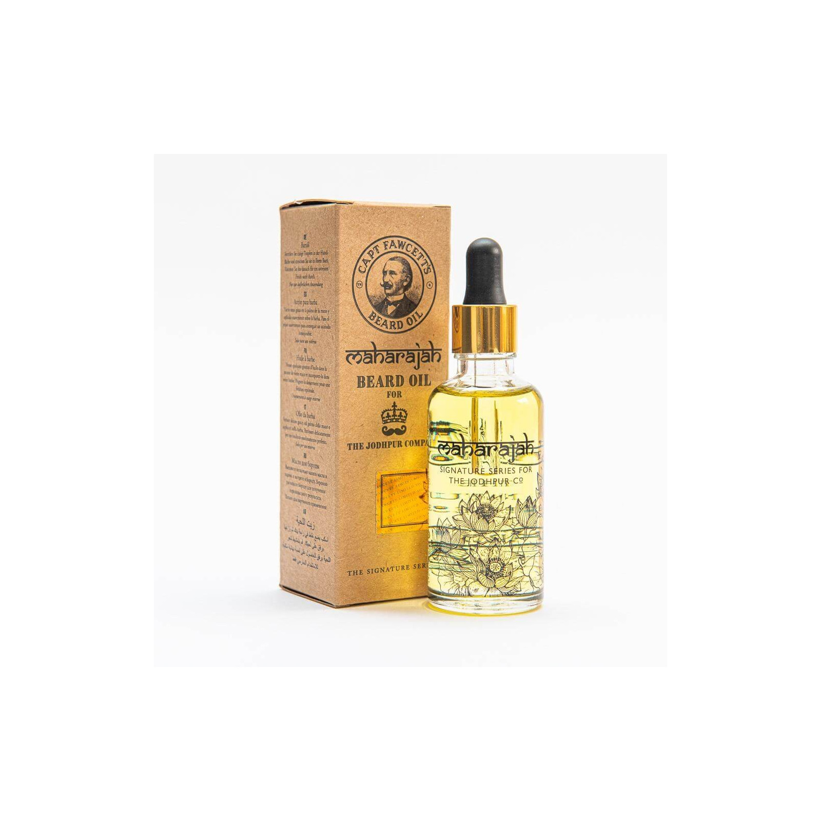 Huile à barbe Barberism™ 50 ml, Captain Fawcett