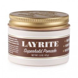 Cire pour cheveux Superhold Pomade Layrite 42 gr