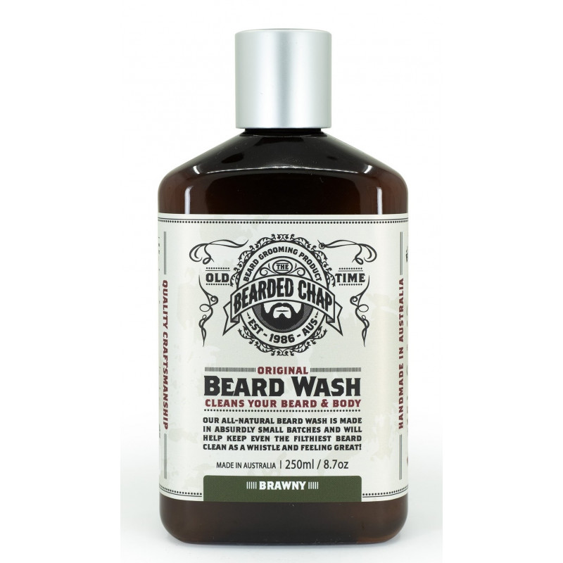 """Shampoing à barbe """"Brawny"""" The Bearded Chap"""