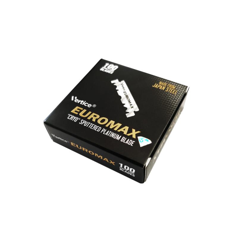 """Demi-Lames Euromax """"Platinum"""" par 100"""