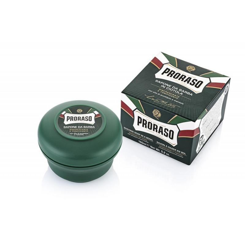Savon à raser en pot Proraso vert