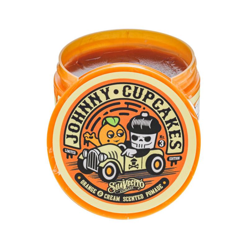 Pommade cheveux Johnny Cupcakes Orange&Cream Tenue Forte Suavecito