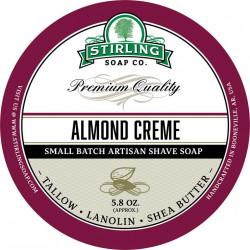 Savon de rasage Almond Creme Stirling Soap Company