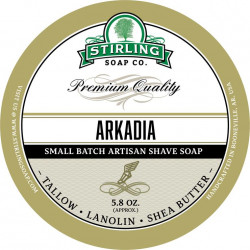 Savon de rasage Arkadia Stirling Soap Company