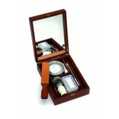 Coffret de rasage en bois Thiers-Issard avec mirroir