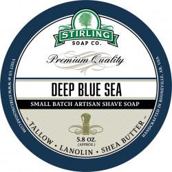 Savon de rasage Deep Blue Sea Stirling Soap Company