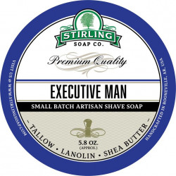 Savon de rasage Executive Man Stirling Soap Company