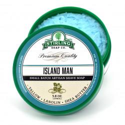 Savon de rasage Island Man Stirling Soap Company