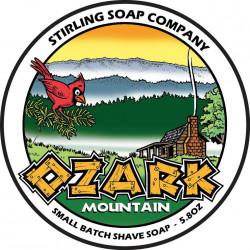 Savon de rasage Ozark Mountain Stirling Soap Company