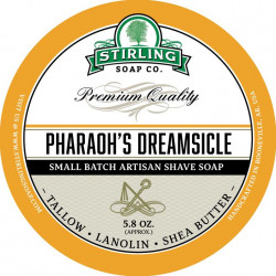 Savon de rasage Pharaoh's Dreamsicle Stirling Soap Company