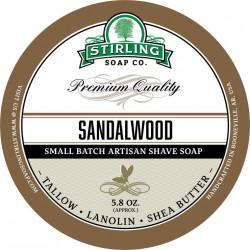 Savon de rasage Sandalwood Stirling Soap Company