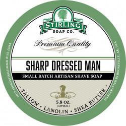 Savon de rasage Sharp Dressed Man Stirling Soap Company