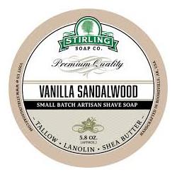 Stirling Soap Company Vanilla Sandalwood - Shave Soap