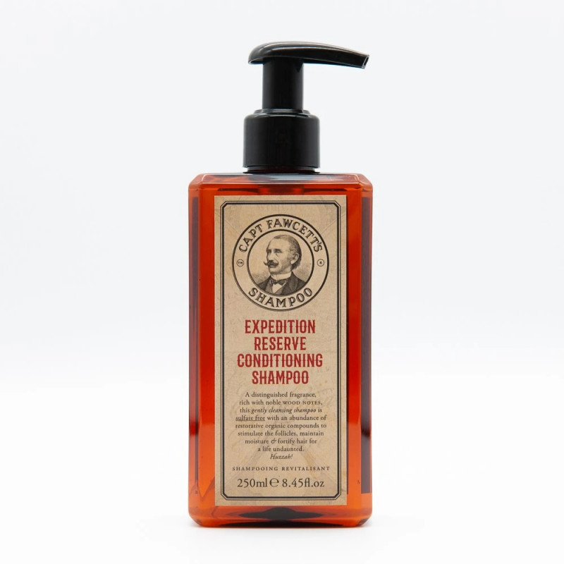 Shampoing cheveux 250ml Capt. Fawcett's Expedition Reserve