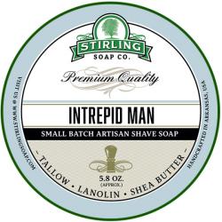 Savon de rasage Intrepid Man Stirling Soap Company