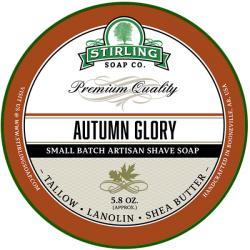 Savon de rasage Autumn Glory Stirling Soap Company