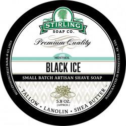 Savon de rasage Black Ice Stirling Soap Company