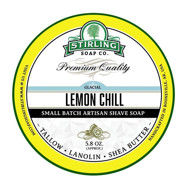 Savon de rasage Glacial - Lemon Chill Stirling Soap Company