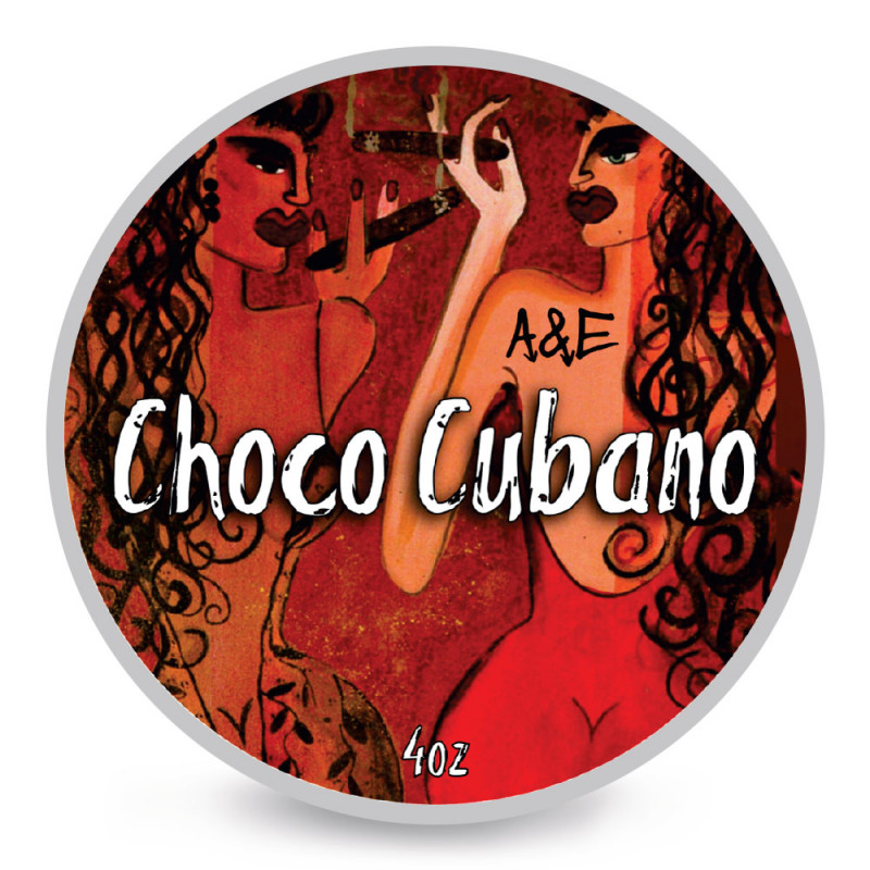 """Savon de rasage """"Choco Cubano"""" Ariana & Evans"""