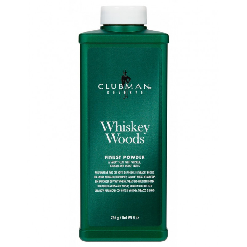 """Talc """"Reserve Whiskey woods"""" Clubman Pinaud"""