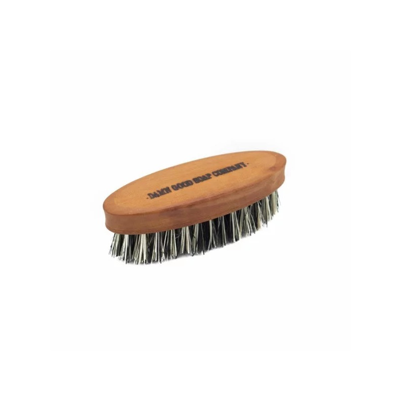 Petite Brosse Vegan pour la barbe Damn Good Soap Company