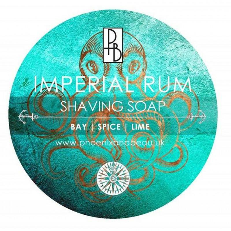"""Savon de Rasage """"Imperial Rum""""  Phoenix and Beau Ldt"""