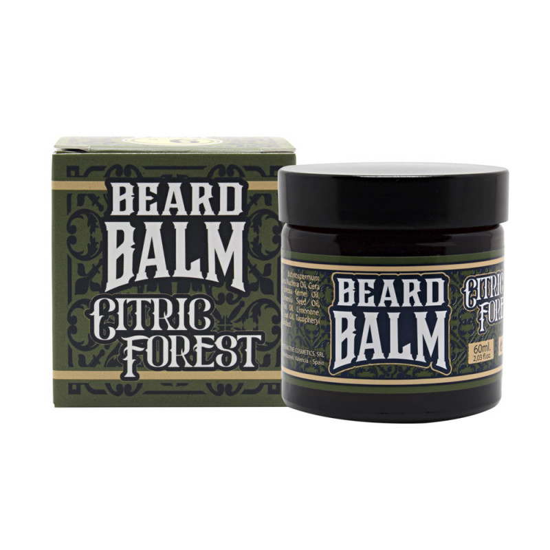 """Baume pour la barbe n°6 """"Citric Forest"""" Hey Joe"""