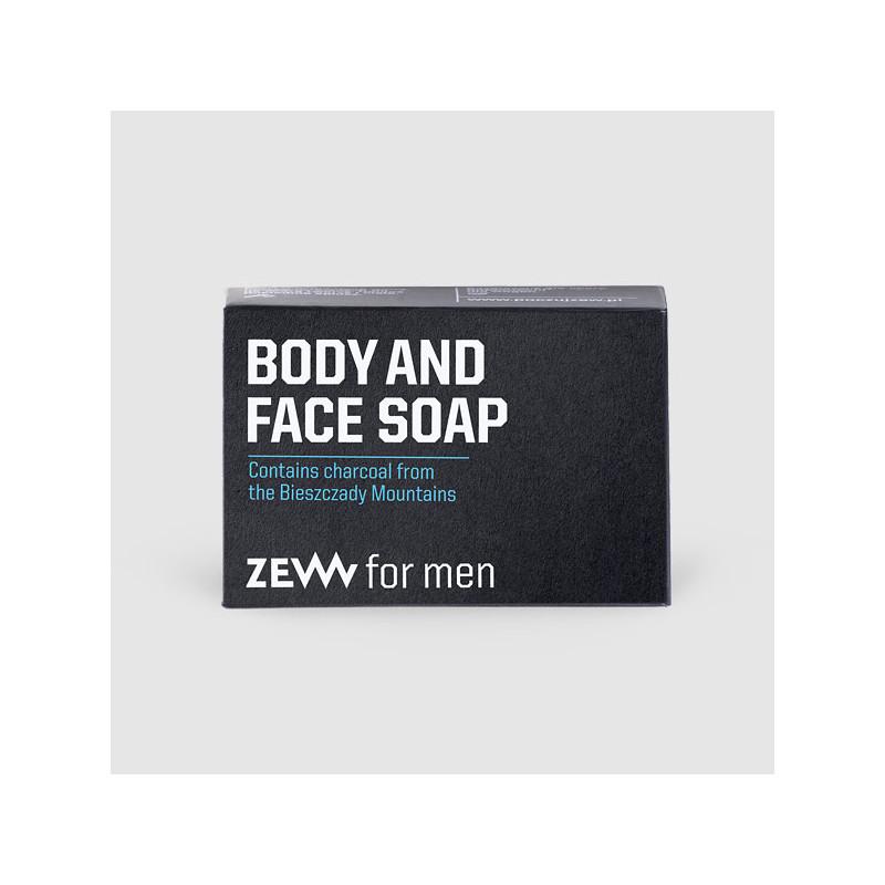 Savon solide pour le visage et corps Zew