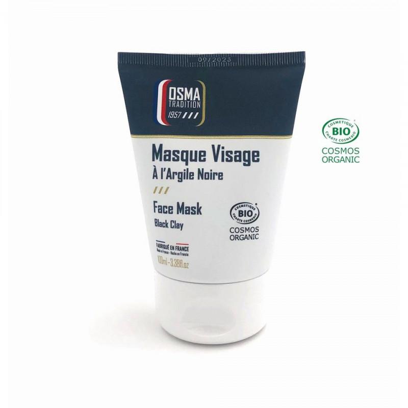 Masque Visage à l'argile noire OSMA Tradition