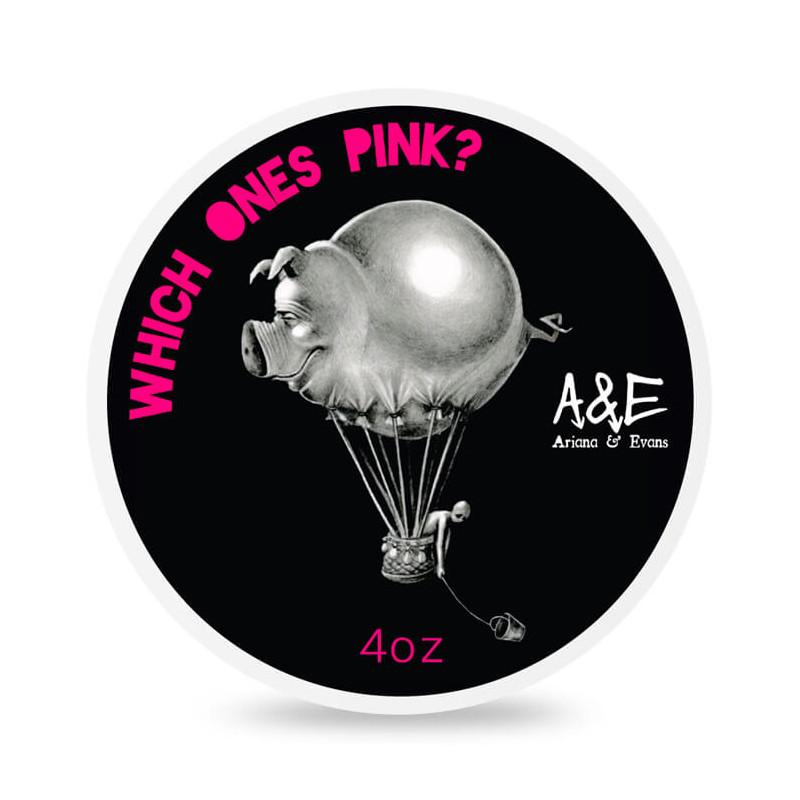 """Savon de rasage """"Which One's Pink"""" Ariana & Evans"""