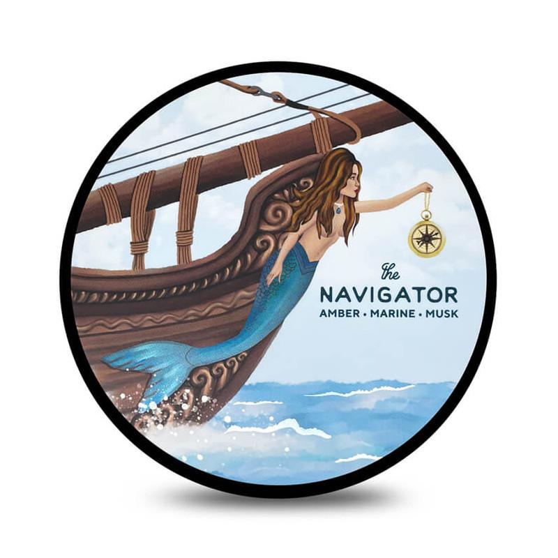 """Savon de rasage """"The Navigator"""" Zingari Man"""
