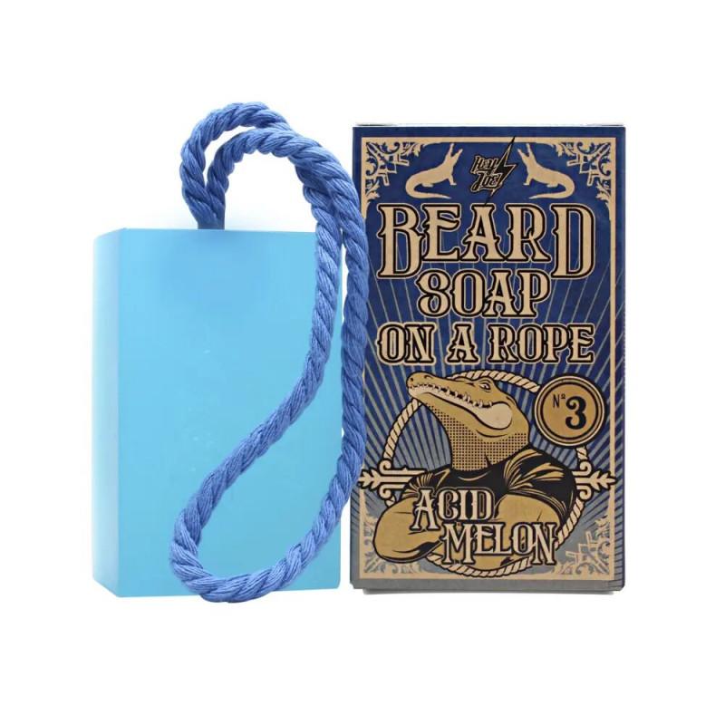 "Beard Soap on a rope ""N°3 Acid Melon"" HEY JOE"