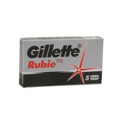 """Lames Gillette """"Rubie"""" par 5"""