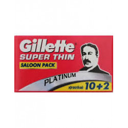"""Lames Gillette """"Super Thin""""..."""