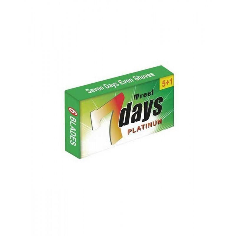 """Lames Treet """"7 Days"""" Platinum par 5"""