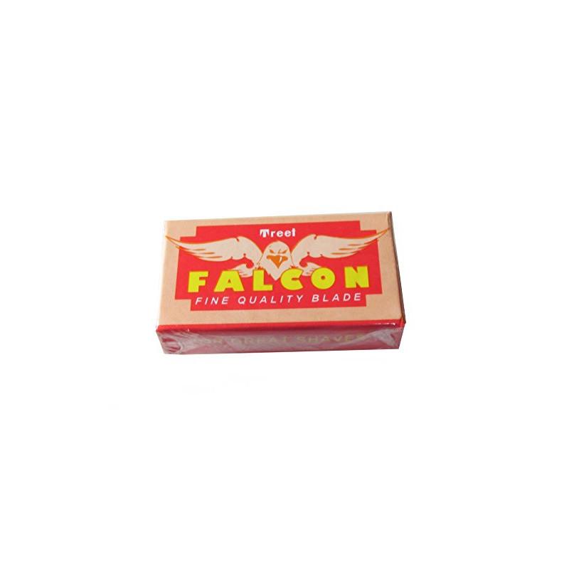 "Lames Treet ""Falcon"" Carbone Steel par 10"