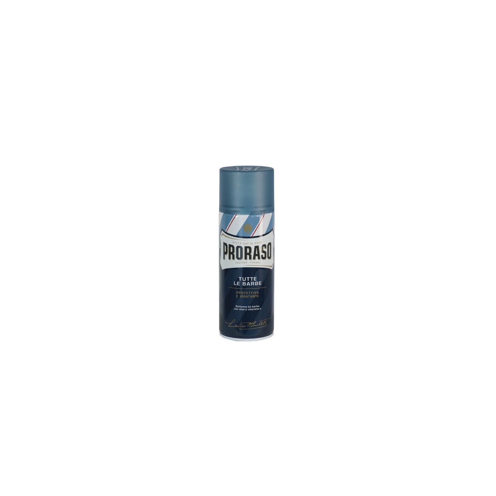 Grande Mousse de rasage Proraso bleue