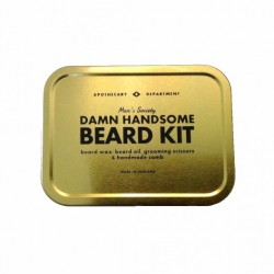 Kit d'entretien Barbe Men's Society