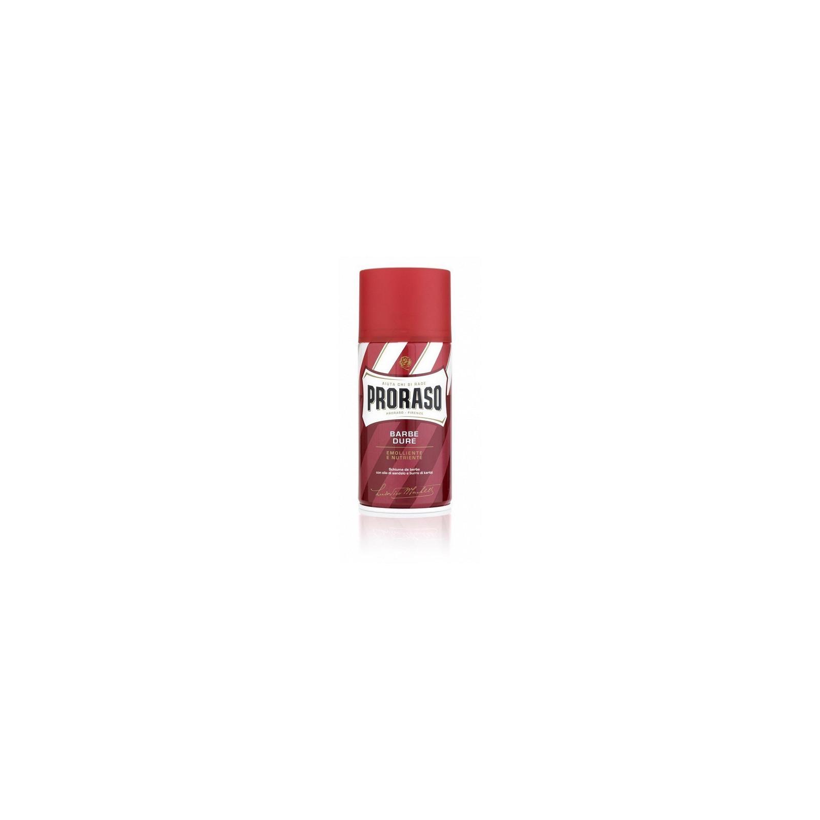 Petite Mousse de rasage Proraso rouge